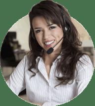 customer services girl