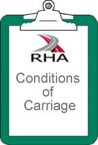Conditions of carriage image