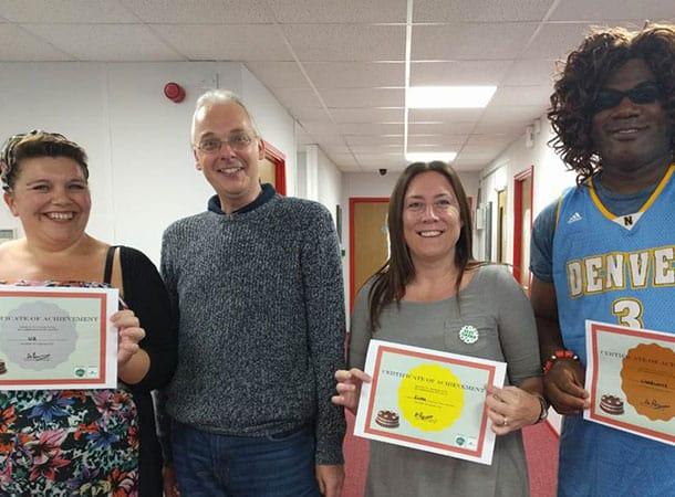 Ferryspeed Cake Off contest winners