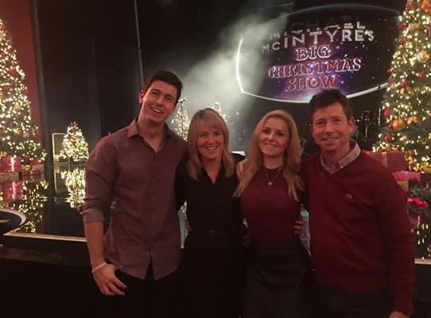 At the Michael McIntyre Big Christmas Show